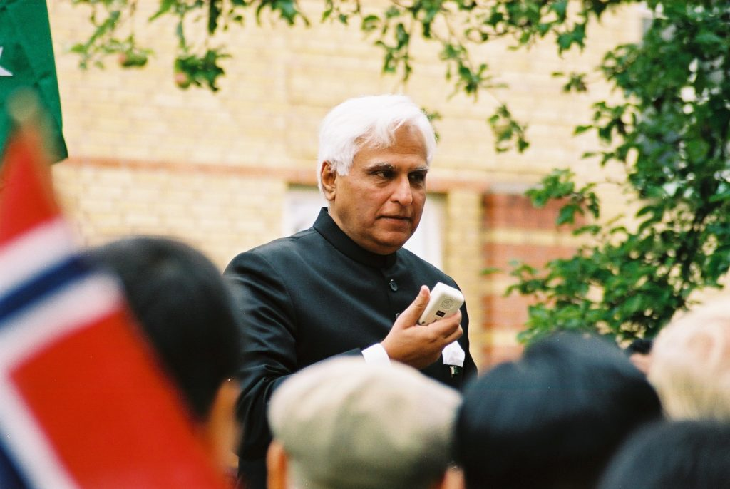 Ambassadør Shahbaz taler ved første historiske barnetog i 2003